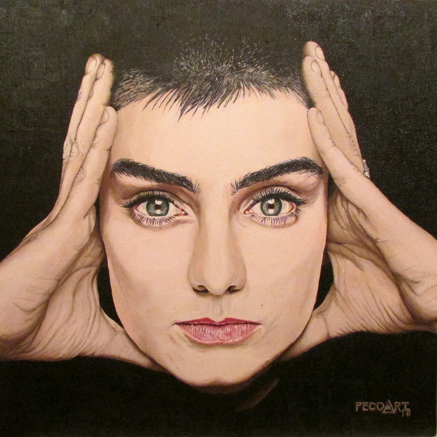 Sinead O'Connor par Peco.Art